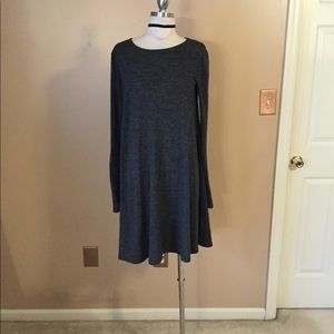 Old navy basic grey layering fit flare dress MD